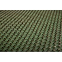 Donica prostokątna - butelkowa zieleń 108 cm