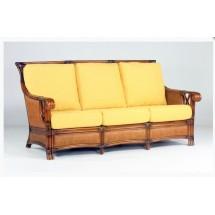 Sofa rattanowa 3-os. GLORIA