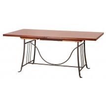 Stół obiadowy Parigi z blatem drewnianym PR/18