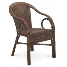Fotel rattanowy POKER