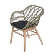 Krzesło obiadowe ogrodowe Breeze 60x60x84 cm