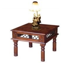 Stolik drewniany INDIE IN/124-A brązowy