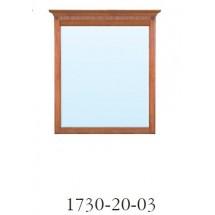 Villa Forum - Lustro stylowe w drewnianej ramie 1730/20/03