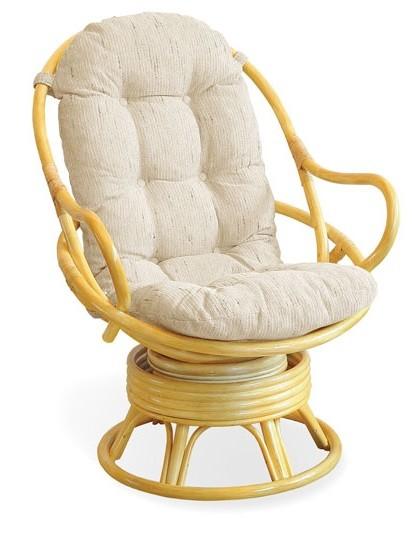 Fotel Rattanowy Bujano Obrotowy 0501 Centrum Mebli