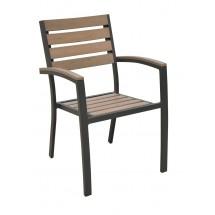 ECO krzesło z podłokietnikami
