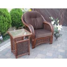 Fotel rattanowy Alhambra