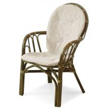 Krzesło 04/16 z podłokietnikami - widok od tyłu