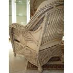 Fotel rattanowy - naturalny rattan WB/01 - tył fotela