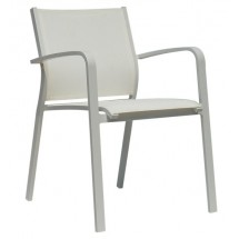 Krzesło ogrodowe FARO (białe)