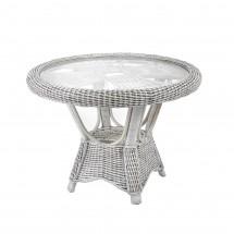 Stół rattanowy okrągły WB/06 - rattan naturalny