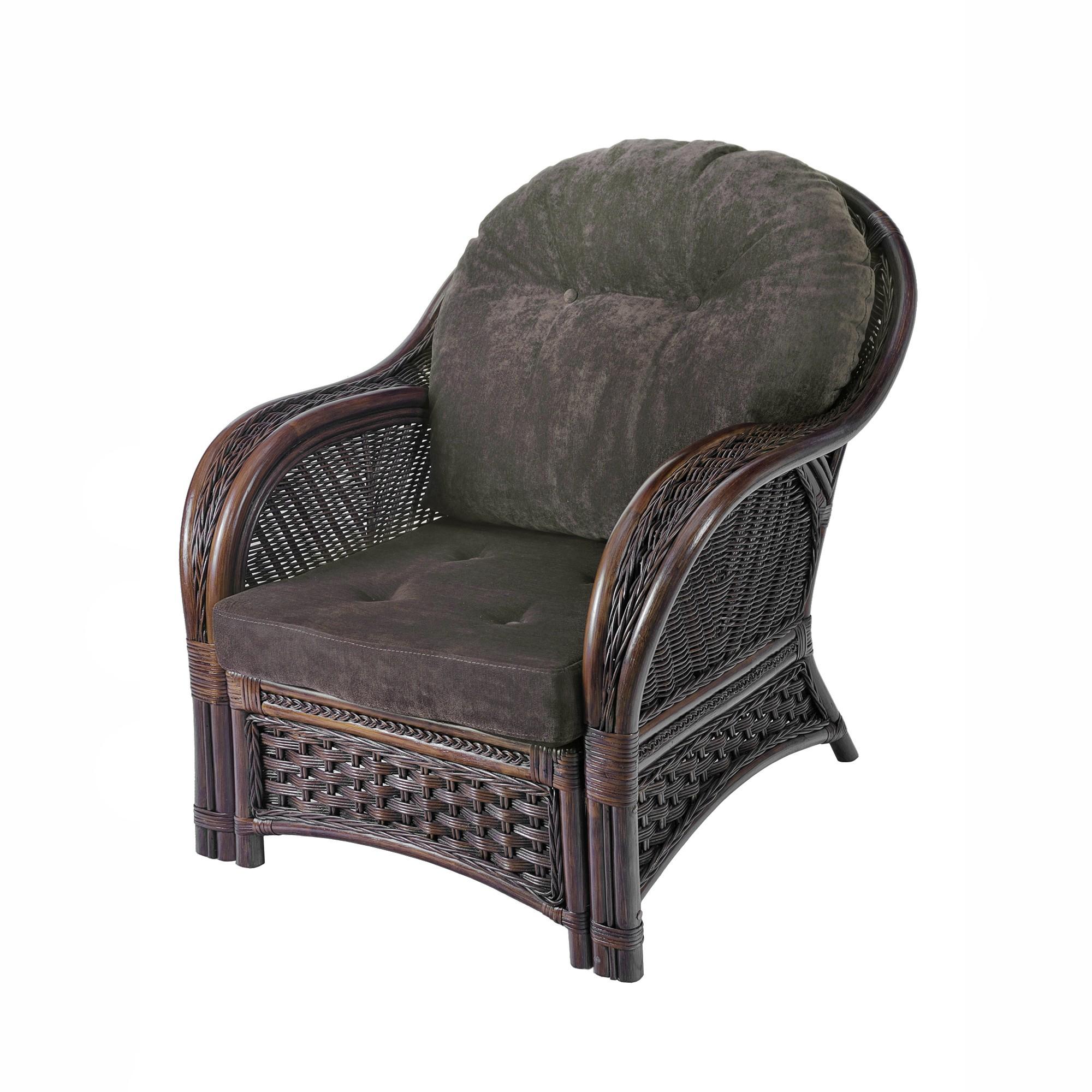 Fotel rattanowy Alhambra  rattan naturalny- RattaNeo - fotel 9/a/f