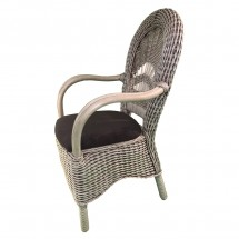 Krzesło rattanowe Dolce Vita z podłokietnikami